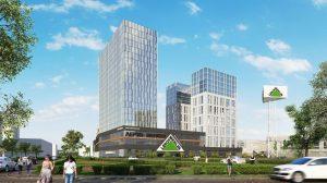Строительство многофункционального торгово-офисного комплекса на Автозаводской
